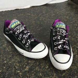Converse ALL STAR multiple tongues